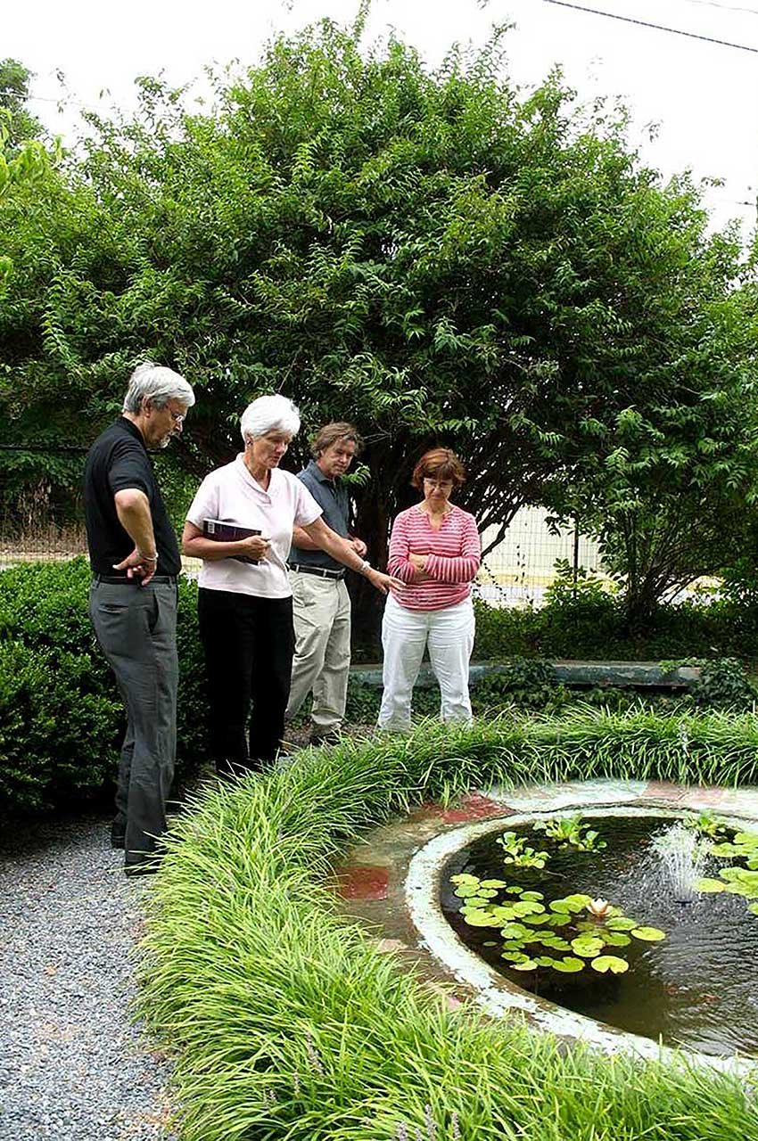 Speaking topics bill noble gardens for Bill garden designs